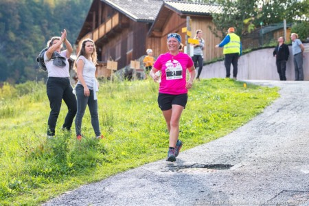 Pendant La Course Sur L'EDF Trail Des Vallées D'Aigueblanche