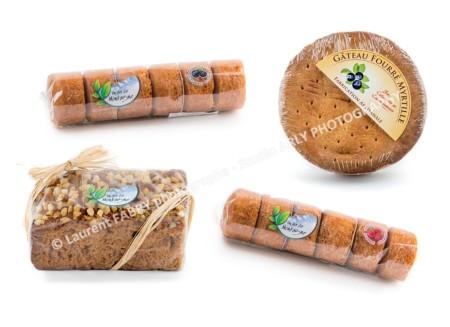 Photographe Packshot Produits Alimentaires : 4 Gateaux