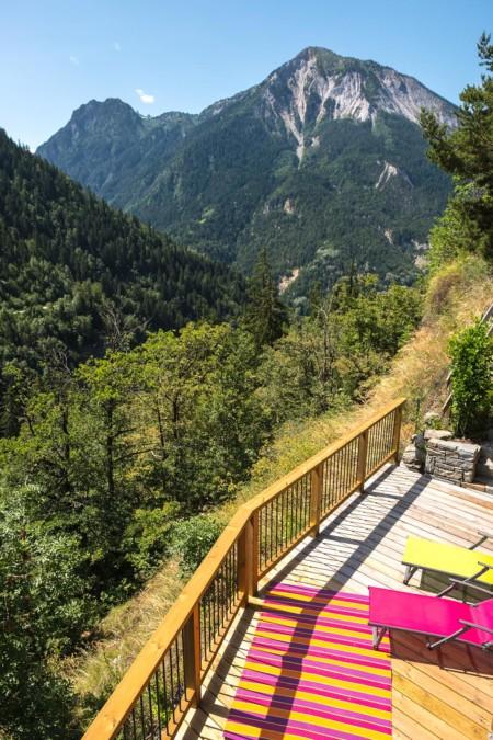 Terrasse Avec Vue Sur Le Grand Bec (Vanoise)