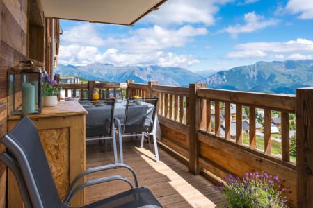 Photographe Appartement En Maurienne : Le Grand Balcon