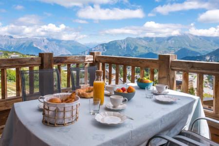 Photographe Immobilier Appartement En Maurienne : Le Balcon