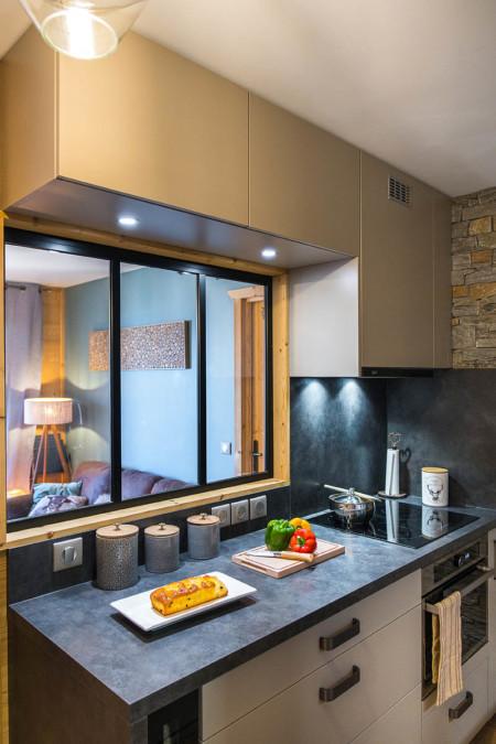 Appartement à Louer En Maurienne : La Cuisine