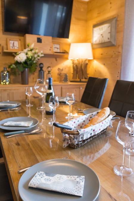 Photographe Immobilier En Maurienne : Salon Salle à Manger