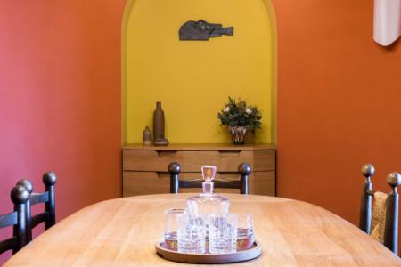 Salle à Manger Dans Le Chalet D'un Hôtel Des 3 Vallées (Méribel)