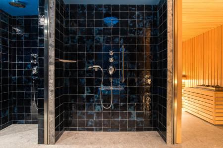 Hamma Et Sauna Dans Le Chalet D'un Hôtel Des 3 Vallées