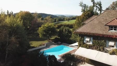 Reportage Immobilier Près D'Annecy (capture D'écran De La Vidéo Drone)